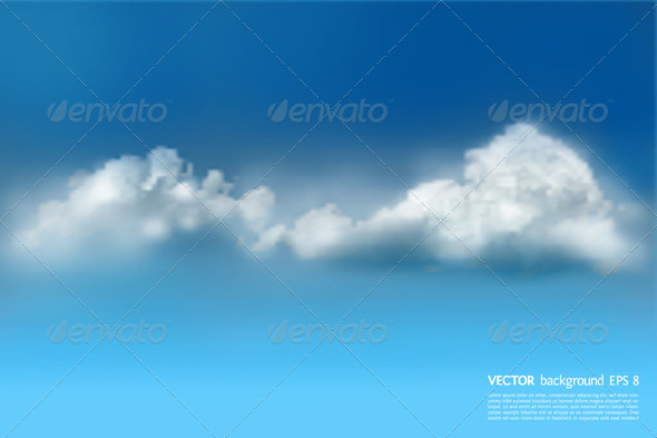 GraphicRiver Blue Sky Background 5648771