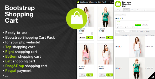 CodeCanyon Bootstrap Shopping Cart Pack 5625102