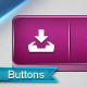 Realistic Buttons 3D - GraphicRiver Item for Sale