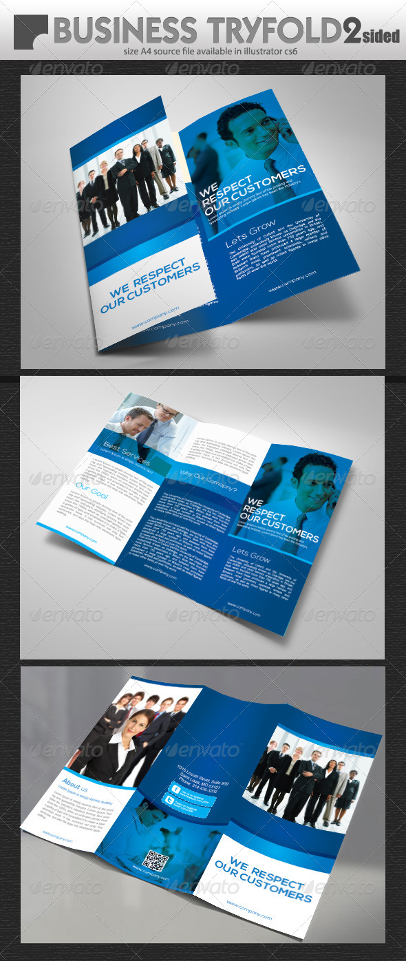 GraphicRiver Business Tri-Fold Brochure 5650901