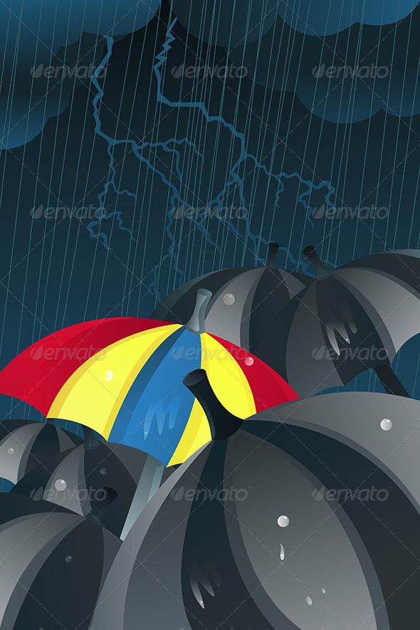GraphicRiver Unique Umbrella 5653024