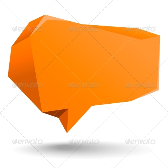 GraphicRiver Abstract Speech Bubble 5653520