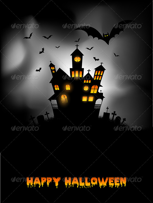 GraphicRiver Halloween Background 5654781
