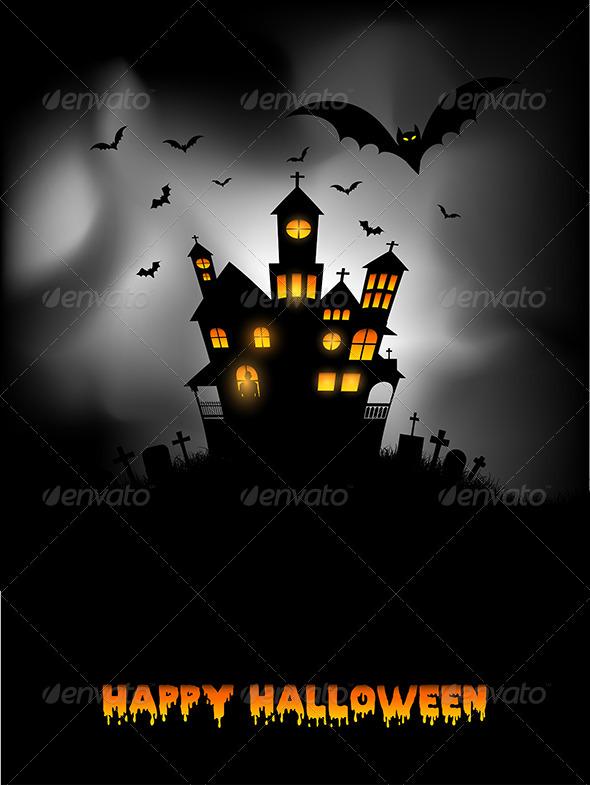 GraphicRiver Halloween Background 5654781