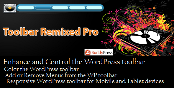 CodeCanyon Toolbar Remixed Pro 5587965