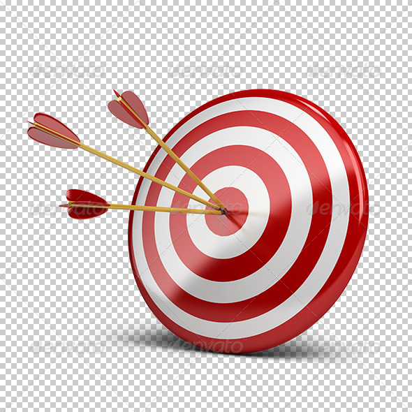 GraphicRiver Three Arrows in Target 5655846