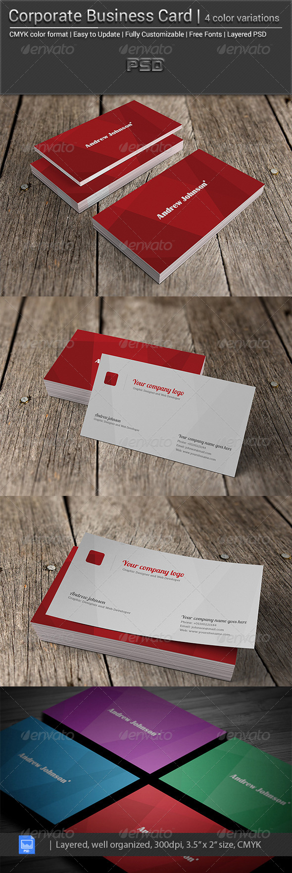 GraphicRiver Corporate Business Card v-0.0.2 5656771