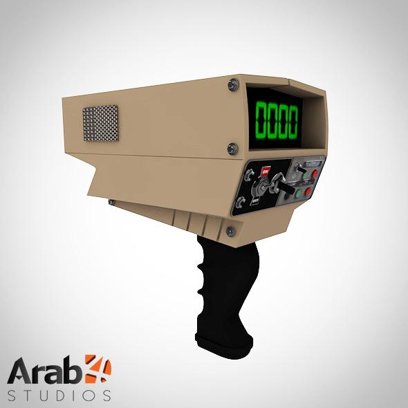 3DOcean Radar gun 5657013
