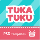 Tukatuku Shop - eCommerce PSD templates - ThemeForest Item for Sale