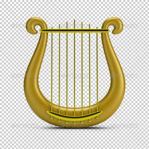 GraphicRiver Golden Harp 5663570