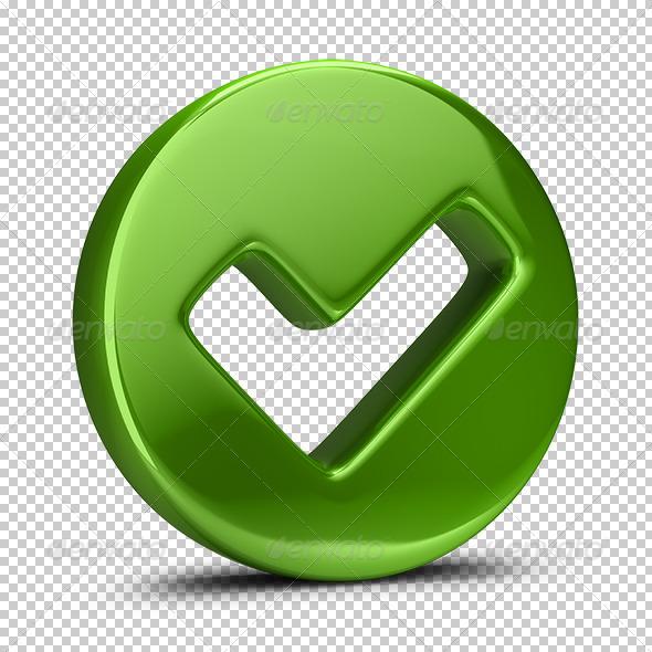 GraphicRiver Checkmark Icon 5664467