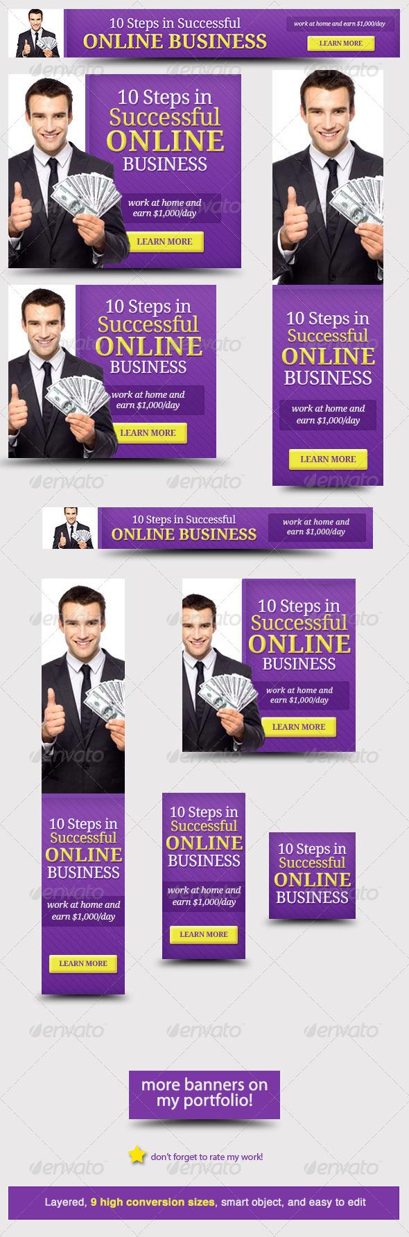 GraphicRiver Corporate Web Banner Design Template 23 5666074