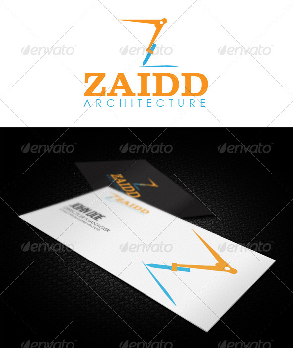 GraphicRiver Zaidd Architecture Logo Mock Up 5666284