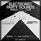 Electronic Party Sound Flyer - GraphicRiver Item for Sale