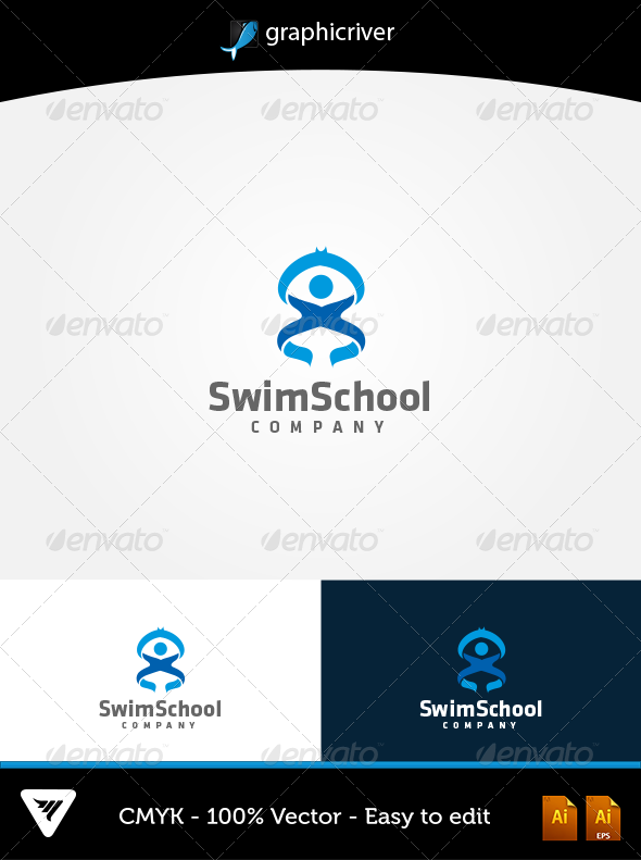 GraphicRiver SwimSchool 5667831
