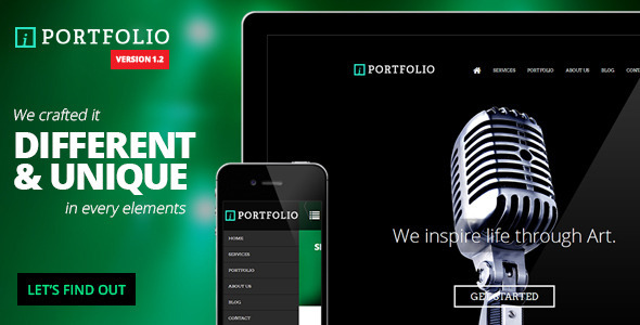 iPortfolio - Onepage Responsive Photography Theme - Photography Creative