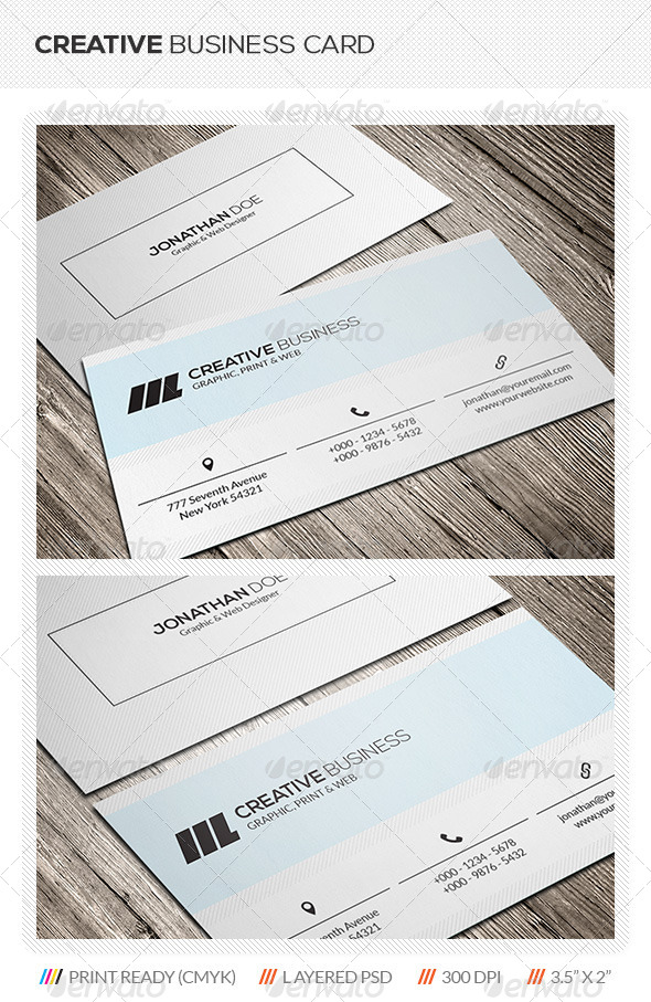 GraphicRiver Corporate Business Card 5669648