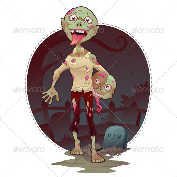 GraphicRiver Vector Zombie Bro 5670385