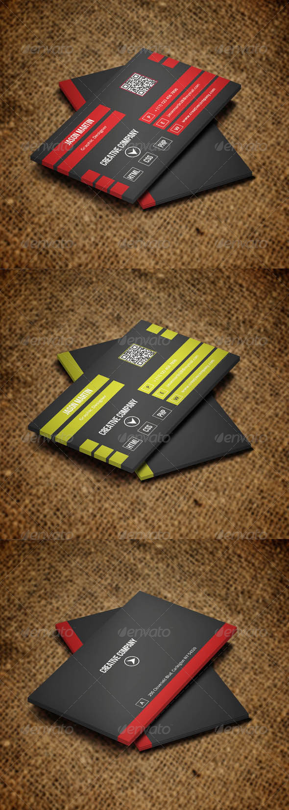 GraphicRiver Corporate Business Card v27 5672086