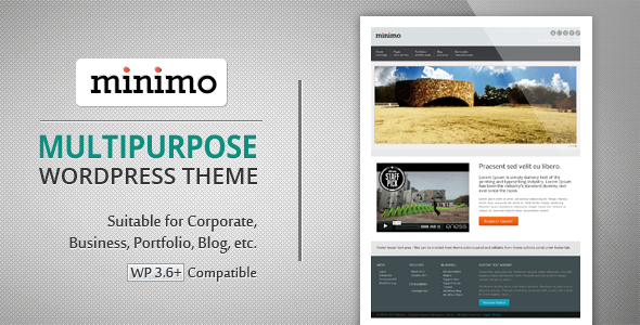 Minimo / Corporate, Business, Portfolio, BlogTheme - Business Corporate