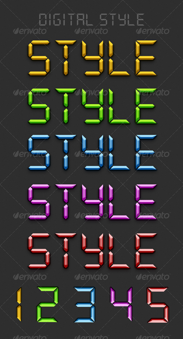 GraphicRiver Digital Styles 5672625