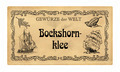 German spice label  Bockshornklee (fenugreek) - PhotoDune Item for Sale