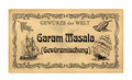 German spice label  Garam Masala (spice mixture) - PhotoDune Item for Sale