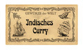 German spice label  Indisches Curry (Green curry) - PhotoDune Item for Sale