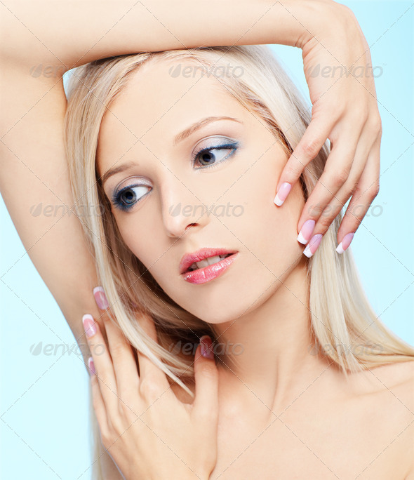 beautiful blonde - Stock Photo - Images