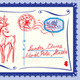 Collection of Christmas Envelops Postcards Stamps  - GraphicRiver Item for Sale