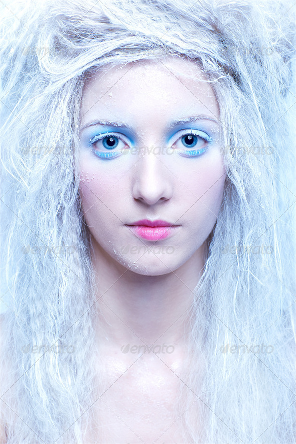 frozen fairy - Stock Photo - Images