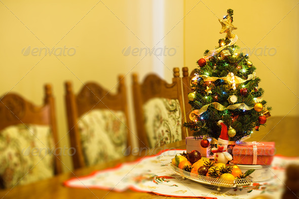 Little Christmas tree - Stock Photo - Images