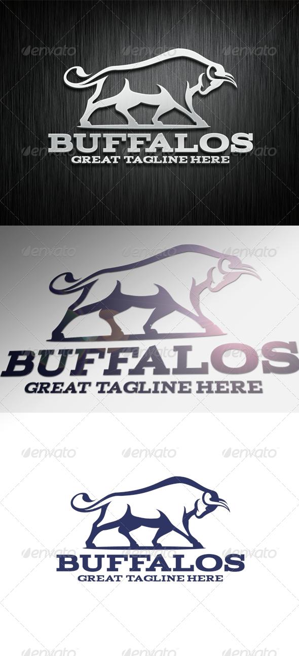 GraphicRiver Buffalo Logo Template 5674528