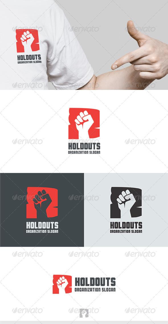 GraphicRiver Holdouts Logo 5674804