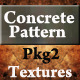 Concrete Pattern Textures Pkg2 - GraphicRiver Item for Sale