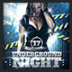 Underground Night Party Flyer - GraphicRiver Item for Sale