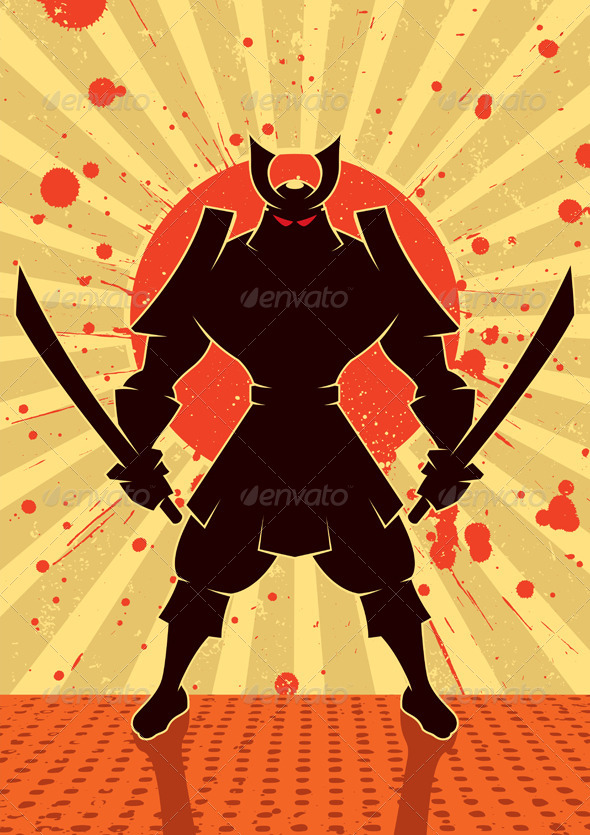 GraphicRiver Shadow Samurai 5676034