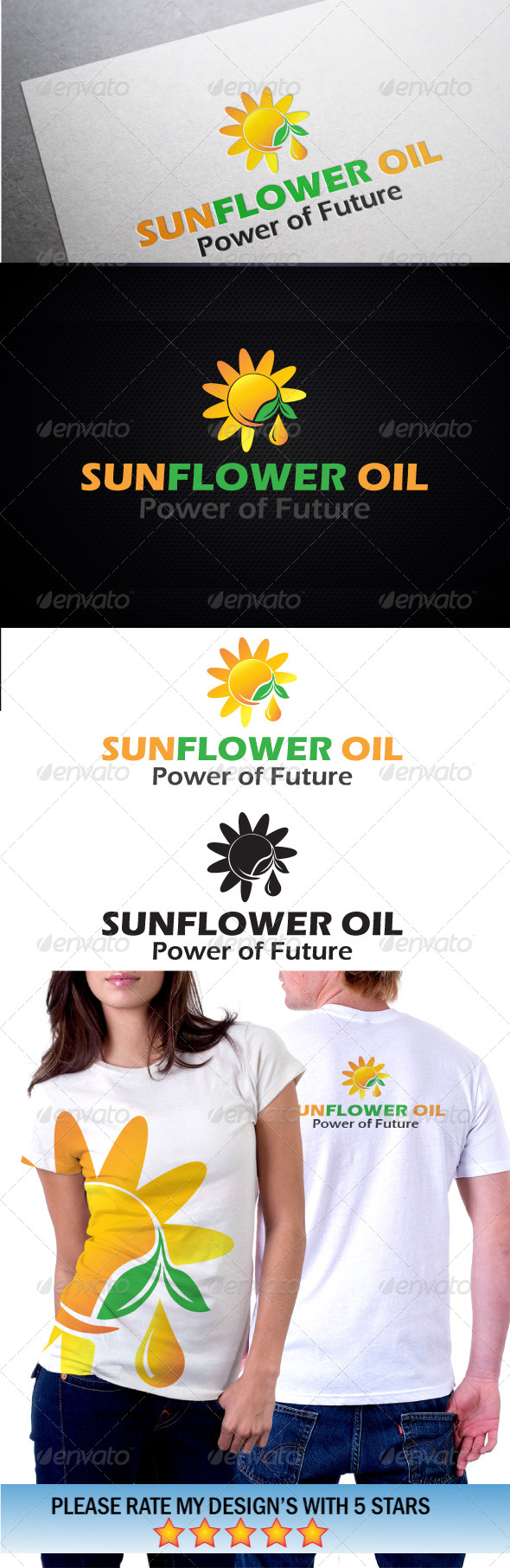 GraphicRiver Sunflower Solar Energy 5645584