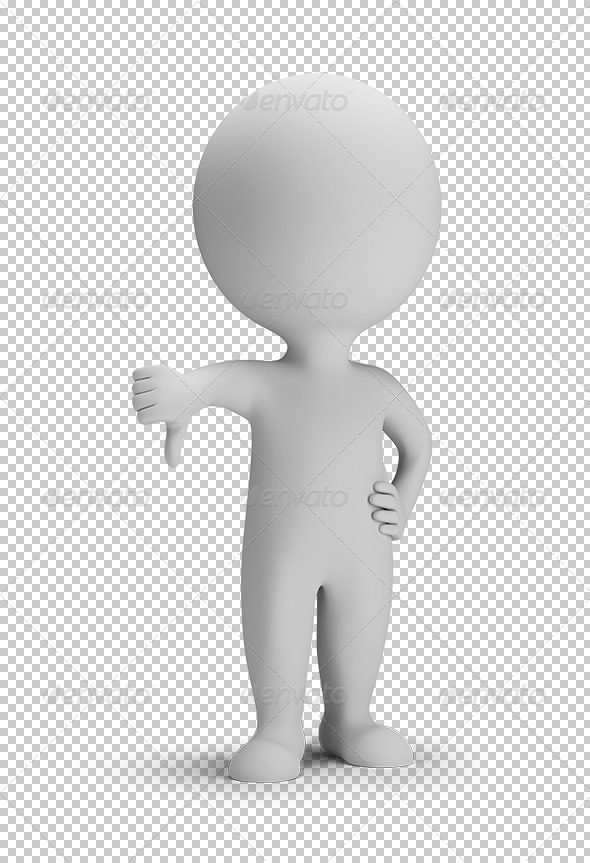GraphicRiver 3D small people no 5677797