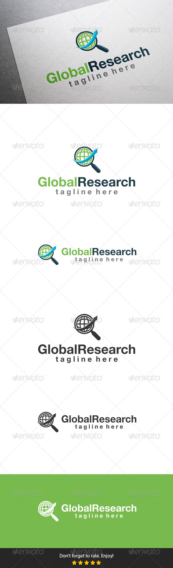 Global Research Logo - Symbols Logo Templates