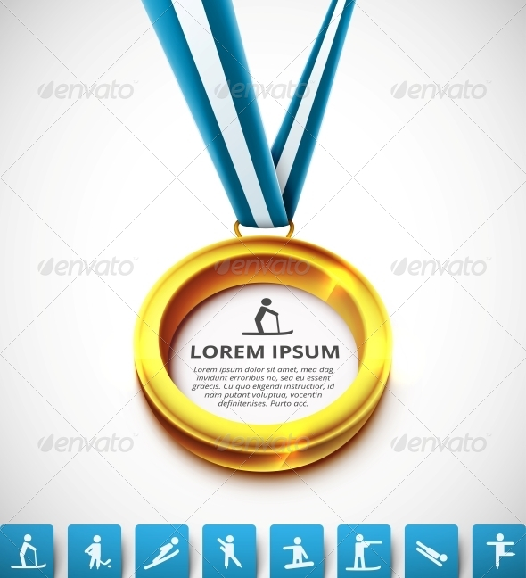GraphicRiver Gold medal 5679492
