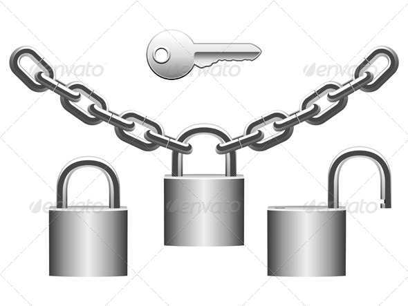 GraphicRiver Padlock 5679984