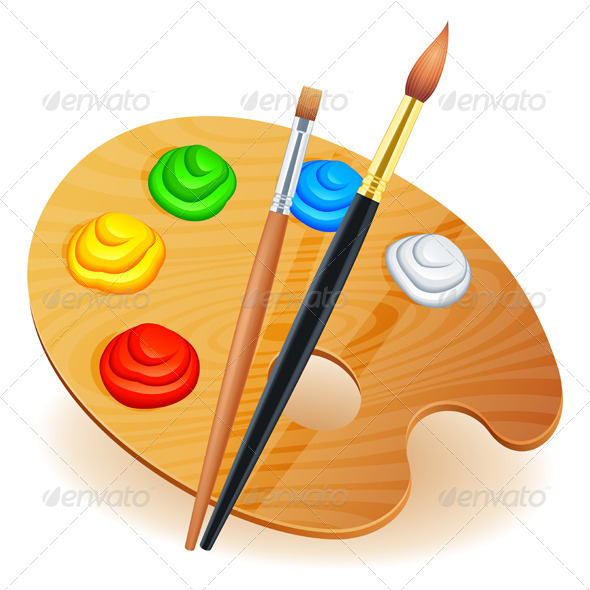 Art Palette - Objects Vectors