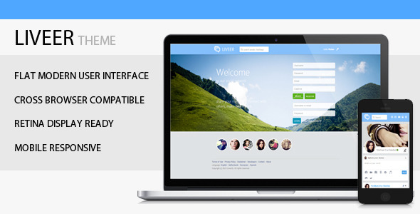 CodeCanyon Liveer Theme for phpDolphin 5680049