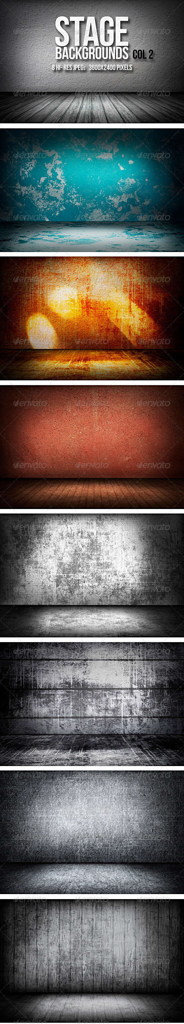 GraphicRiver Stage Backgrounds Col 2 5672566