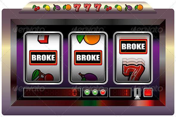 GraphicRiver Slot Machine Broke 5680959