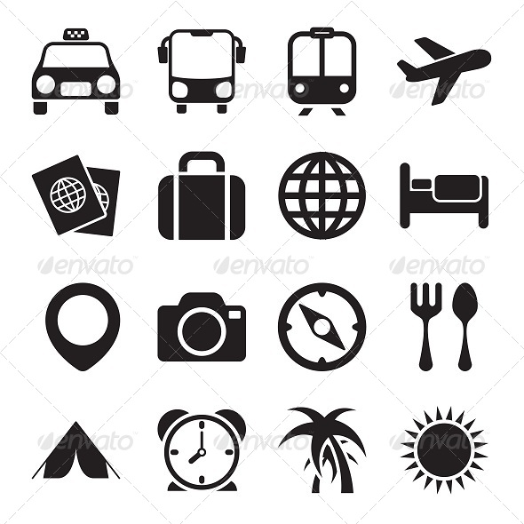GraphicRiver Travel Icons 5680971