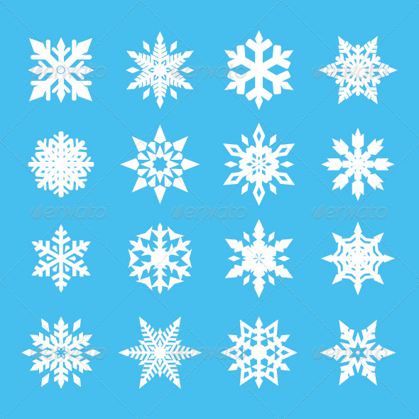 GraphicRiver Snowflake Vector 5682173