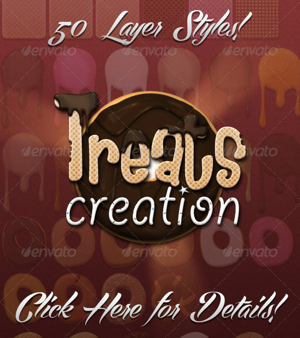 Treats Creation Kit - Photoshop Add-ons