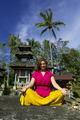 yoga in balinese temple - PhotoDune Item for Sale